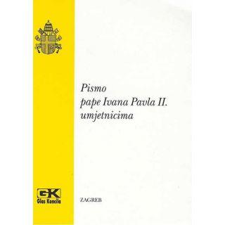 Pismo pape Ivana Pavla II. umjetnicima