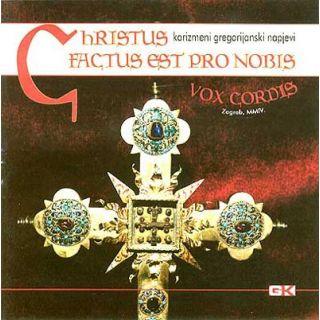 Christus factus est pro nobis (CD)