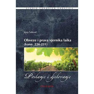 Obveze i prava vjernika laika (kann. 224-231)