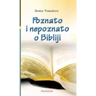 Poznato i nepoznato o Bibliji