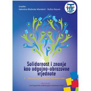Solidarnost i znanje kao odgojno-obrazovne vrjednote